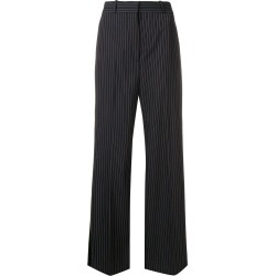 Stella McCartney pinstripe tailored trousers - Blue found on MODAPINS from FarFetch.com- UK for USD $743.37