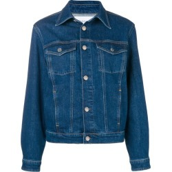Calvin Klein regular-fit denim jacket - Blue found on MODAPINS from FARFETCH.COM Australia for USD $118.79