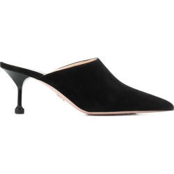 Prada suede pointed toe mules - Black found on Bargain Bro India from FARFETCH.COM Australia for $625.82