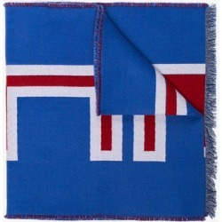 Gucci royal blue Heron wool scarf found on Bargain Bro UK from Browns Fashion