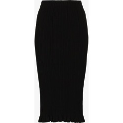 Acne Studios Womens Black High Waist Knitted Skirt found on MODAPINS from Browns Fashion for USD $339.18