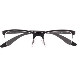 Prada Eyewear Linea Rossa glasses - Black found on MODAPINS from FARFETCH.COM Australia for USD $266.84