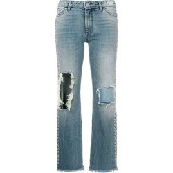 Alchemist distressed bootcut jeans - Blue found on MODAPINS from FarFetch.com- UK for USD $872.42
