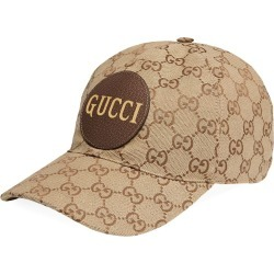 Gucci GG canvas baseball cap - Neutrals found on MODAPINS from FarFetch.com - US for USD $430.00