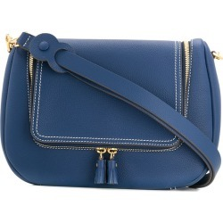 Anya Hindmarch Vere Soft Satchel shoulder bag - Blue found on MODAPINS from FARFETCH.COM Australia for USD $776.63