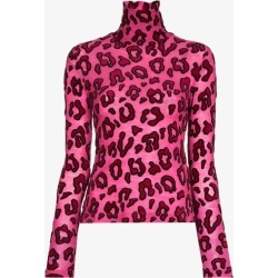Ambush Womens Pink Leopard Print Turtleneck found on MODAPINS from Browns Fashion for USD $410.93