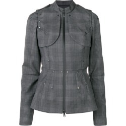 A.F.Vandevorst checked fitted jacket - Grey found on MODAPINS from FarFetch.com - US for USD $467.00