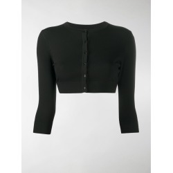 Alaïa cropped fitted cardigan found on Bargain Bro UK from MODES GLOBAL