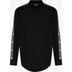 Dsquared2 Mens Black Logo Tape Cotton Shirt found on MODAPINS from Browns Fashion for USD $567.47