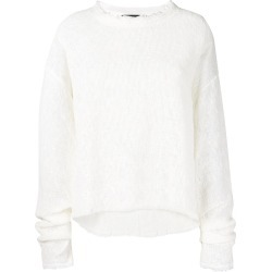 Andrea Ya'aqov distressed frayed sweater - Neutrals found on MODAPINS from FarFetch.com- UK for USD $434.36