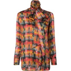 Adam Lippes removable scarf blouse - Red found on MODAPINS from FarFetch.com- UK for USD $1056.06