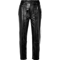 Aalto cropped waxed trousers - Black found on MODAPINS from FarFetch.com- UK for USD $1257.64