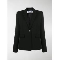 Off-White logo side stripe tailored blazer found on Bargain Bro UK from MODES GLOBAL