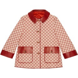 Gucci GG canvas jacket - Red found on MODAPINS from FARFETCH.COM Australia for USD $3466.77