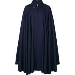 Vivienne Westwood Man - long flared cape - men - Cotton/Polyamide/Viscose/Virgin Wool - One Size, Blue