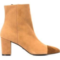 Stuart Weitzman two-tone ankle boots - Neutrals found on Bargain Bro UK from FarFetch.com- UK