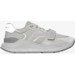 Burberry Mens Grey Ramsey Suede Sneakers found on Bargain Bro UK from Browns Fashion