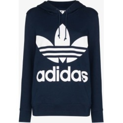 adidas logo print hoodie found on Bargain Bro UK from Browns Fashion
