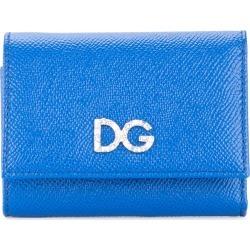 Dolce & Gabbana logo tri-fold wallet - Blue found on Bargain Bro UK from FarFetch.com- UK