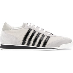 Dsquared2 low-top stripe sneakers - Grey found on Bargain Bro UK from FarFetch.com- UK