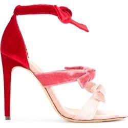 Alexandre Birman gradient bow sandals - Pink