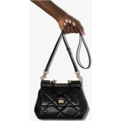 Dolce & Gabbana Womens Black Sicily Small Quilted Tote Bag found on Bargain Bro UK from Browns Fashion