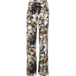 Adam Lippes floral high-waist trousers - Black found on MODAPINS from FarFetch.com- UK for USD $863.70