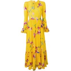 La Doublej Visconti orchid dress - Yellow found on Bargain Bro UK from FarFetch.com- UK