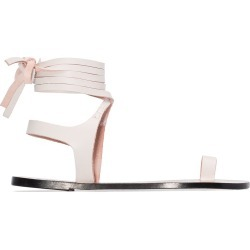 Atp Atelier Candela flat sandals - White found on MODAPINS from FarFetch.com- UK for USD $229.36