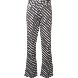 Alexa Chung checked flared trousers - Black found on MODAPINS from FarFetch.com - US for USD $244.00
