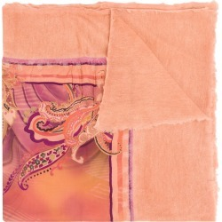 Avant Toi paisley print scarf - Pink found on MODAPINS from FarFetch.com - US for USD $903.00