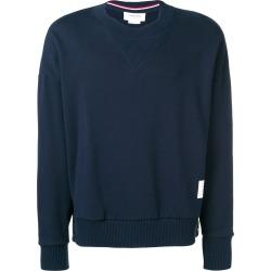 Thom Browne Oversized Loopback Sweatshirt - Blue found on Bargain Bro UK from FarFetch.com- UK