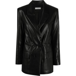 Aeron ruched single-breasted blazer found on MODAPINS from Eraldo for USD $710.03