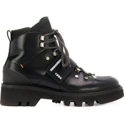 Dsquared2 touch strap ankle boots - Black found on Bargain Bro UK from FarFetch.com- UK