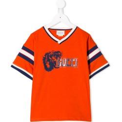 e9cf14aa937 Gucci Kids Lion print T-shirt - Orange found on MODAPINS from FarFetch.com