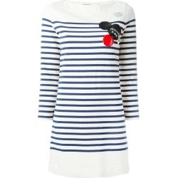 Marc By Marc Jacobs patched breton stripe dress - NEUTRALS found on Bargain Bro India from FARFETCH.COM Australia for $286.65
