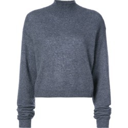 Adam Lippes high-neck cropped jumper - Grey found on MODAPINS from FarFetch.com - US for USD $550.00