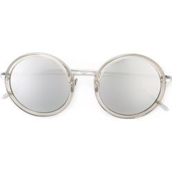 Linda Farrow mirrored lens sunglasses - Metallic found on Bargain Bro UK from FarFetch.com- UK