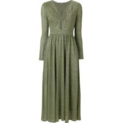 Alexa Chung tie neck dress - Green found on MODAPINS from FARFETCH.COM Australia for USD $269.89