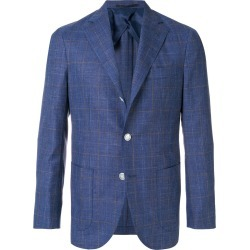 Barba classic fitted blazer - Blue found on MODAPINS from FarFetch.com- UK for USD $628.18