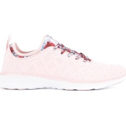 Apl TechLoom lace-up sneakers - Pink found on MODAPINS from FARFETCH.COM Australia for USD $183.33