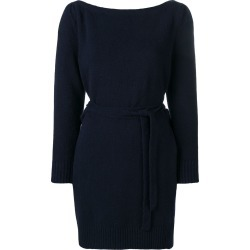 Alexa Chung wrap style knitted dress - Blue found on MODAPINS from FarFetch.com- UK for USD $574.93