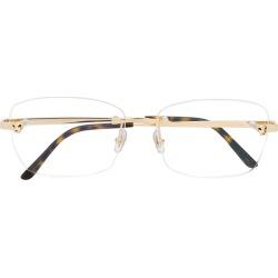 Cartier Rectangular lens glasses - Gold found on Bargain Bro UK from FarFetch.com- UK