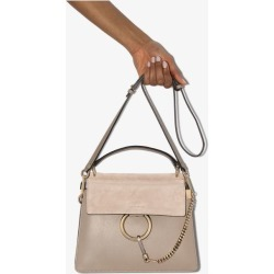 Chloé Womens Grey Chle Faye Mini Tphndl Tote found on MODAPINS from Browns Fashion for USD $1695.89