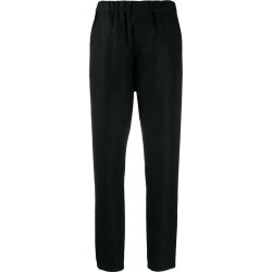 Ann Demeulemeester high-waisted cropped trousers - Black found on Bargain Bro Philippines from FarFetch.com - US for $443.00