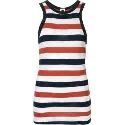Bassike stripe athletic tank - Multicolour found on MODAPINS from FARFETCH.COM Australia for USD $72.16