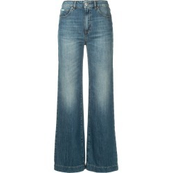 Alexa Chung loose flared jeans - Blue found on MODAPINS from FARFETCH.COM Australia for USD $158.12