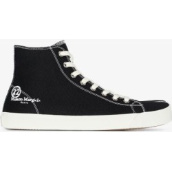 Maison Margiela Mens Black Tabi High Top Sneakers found on Bargain Bro UK from Browns Fashion