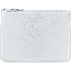 Comme Des Garçons Wallet classic top zip wallet - Metallic found on MODAPINS from FARFETCH.COM Australia for USD $145.89