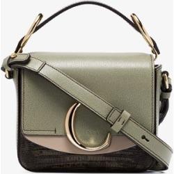 Chloé Green Toaster C Leather shoulder bag